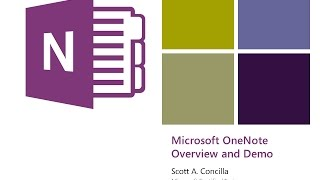 Download 2017-02-16 - OneNote - An Introduction to the Best Product You're Not Using Video