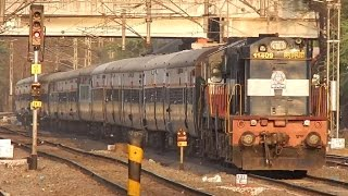 Download Solapur - Pune Intercity Express overtaking Chennai - Ahmedabad Special at Hadapsar Video