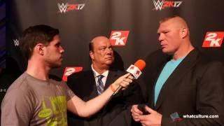 Download Brock Lesnar Calls Out Bill Goldberg Video