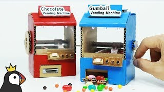 Download How to Make Miniature Candy Crane Game from Cardboard Video