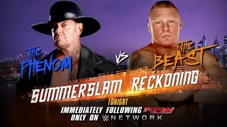 Download A look at the intense rivalry between The Undertaker and Brock Lesnar: Raw, Aug. 10, 2015 Video