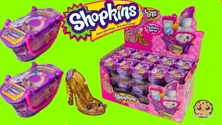 Download Shopkins FASHION SPREE Blind Bag Box Unboxing Season 1 , 2 , 3 Exclusive Colors - Cookieswirlc Video Video
