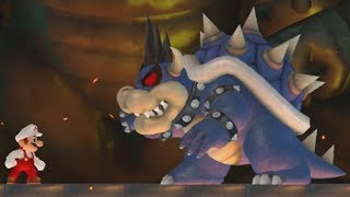 Download New Super Mario Bros. Wii - Epic Bowser World - Complete Game (100%) Video