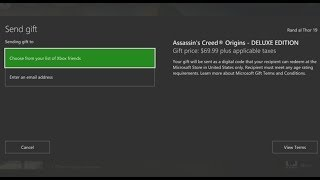 Download Xbox One Digital Game Gifting is HERE! - This is How it Works Video