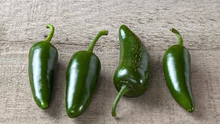 Download The Trick to Picking a Really Spicy (or Less Spicy) Jalapeño Pepper Video