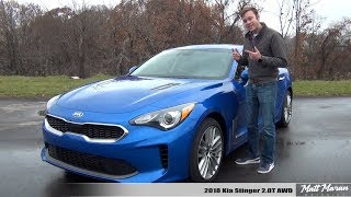 Download Review: 2018 Kia Stinger 2.0T AWD - A Better WRX? Video