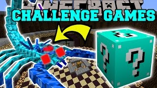 Download Minecraft: ARCTIC SCORPION CHALLENGE GAMES - Lucky Block Mod - Modded Mini-Game Video
