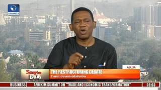 Download Calls For Restructuring: It Is High Time That Government Listened To Nigerians - Fagbenro-Byron Video