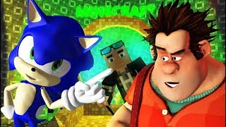 Download WRECK IT RALPH VS MINECRAFT CHALLENGE! Ft. Sonic Ralph Breaks The Internet Animation Video