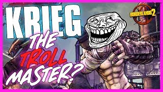 Download Borderlands 2 | Trollmaster Krieg - Funny Moments & Legendary Loot! Video