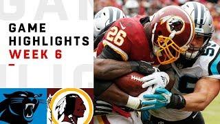Download Panthers vs. Redskins Week 6 Highlights | NFL 2018 Video