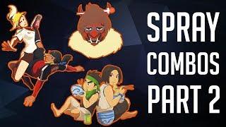 Download The Best Spray Combos #2 [Overwatch] Video