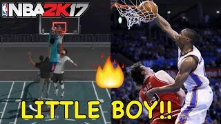 Download SLASHER NBA 2K17 | BEST CONTACT DUNKS!! RUSSELL WESTBROOK POSTERIZERS!!! Video