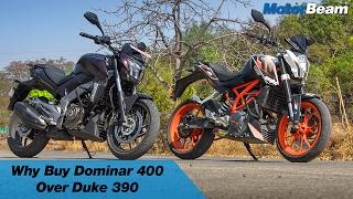 Download 5 Reasons To Buy Dominar 400 Over KTM Duke 390 | MotorBeam Video