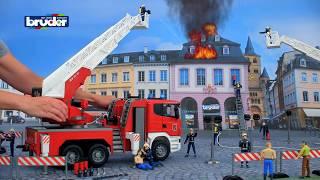 Download Scania Feuerwehr - 03590 - BRUDER Spielwaren Video