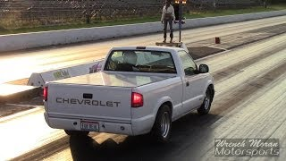 Download Fast S10 V8 Drag Trucks! Video