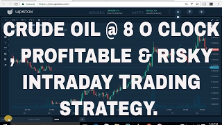 Download CRUDE OIL @8 O CLOCK, RISKY & PROFITABLE INTRADAY TRADING STRATEGY. Video