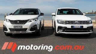 Download 2018 Volkswagen Tiguan v Peugeot 3008 Comparison   motoring.au Video