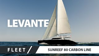 Download Sailing Catamaran Superyacht - Sunreef 80 Carbon Line LEVANTE Video