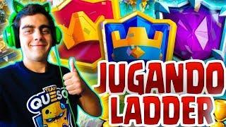 Download REVENTANDO LADDER EN 5800+ CON GUNTER??? - CLASH ROYALE Video