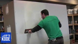 Download Best Way to tape and coat a Butt Joint in Drywall (#2012) Video