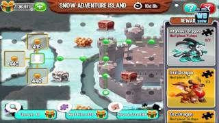 Download Dragon City: Full Christmas Snow Adventure Island Map + All Dragons Location Video