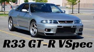 Download Review: i Get Schooled on a Nissan Skyline R33 GT-R Vspec Video
