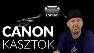 Download Canon kasztok | DSLR típusszámok és kategóriák Video