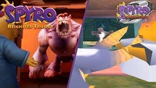 Download Spyro Reignited Trilogy - Colossus Gameplay COMPARISON! PS1 VS PS4 GRAPHICS COMPARISON! Video
