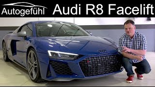 Download Audi R8 V10 Performance FULL REVIEW Facelift with Ascari racetrack 2020 - Autogefühl Video