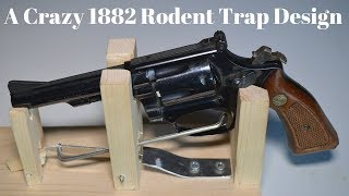 Download A Crazy 1882 Rodent Trap Design. ″The World's Luckiest Rat″ Video