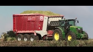 Download Mais Hakselen 2016 : Agri-Wally , John Deere 7550 , John Deere 6210R, Fendt 924 , New Holland T7 Video
