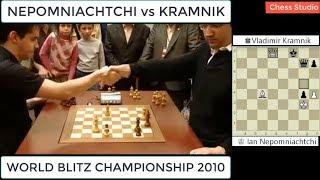 Download BEAUTIFUL CHECKMATE!!! NEPOMNIACHTCHI vs KRAMNIK || WORLD BLITZ CHAMPIONSHIP 2010 Video
