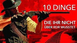 Download 10 Dinge, die ihr nicht über Red Dead Redemption wusstet Video