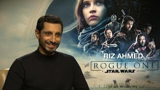 Download Star Wars Rogue One: Riz Ahmed on playing Rogue One's most relatable character Video