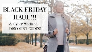 Download Black Friday Haul!!! ( & Cyber Weekend Discount Codes!) | Fashion Mumblr Video