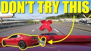 Download Pulling A Parachute On The Highway At 150mph!! **Bad Idea** Video