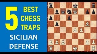 Download 5 Best Chess Opening Traps in the Sicilian Defense Video