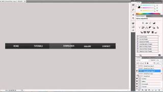 Download Dreamweaver CS5 and Photoshop CS5 Tutorial: How to Make a Navigation Bar! Video