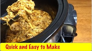 Download Delicious Zesty BBQ Chicken Crock Pot Meal Video