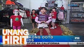 Download Unang Hirit: Pamaskong OOTD for kids, tampok sa isang clothing shop sa Cainta Video