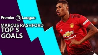 Download Marcus Rashford's top 5 goals for Manchester United | Premier League | NBC Sports Video