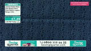 Download Sewing Quarter - Sunday 10th November Video