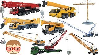 Download Toy Crane Truck for Kids | Excavator Toys for Children | SIKU Toys Video