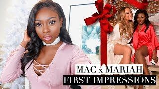 Download FIRST IMPRESSIONS MARIAH CAREY X MAC GET GLAM WITH ME ! Video