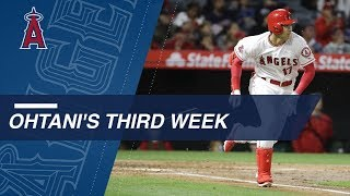 Download Ohtani's third week of the 2018 season Video