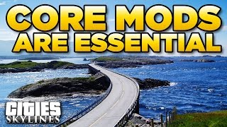 Download CORE MODS are ESSENTIAL to longevity | Cities Skylines Video