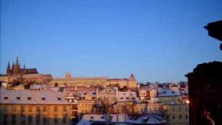 Download Visit Prague: Charles Bridge at Sunrise & Why People Are Rubbing That Statue Video