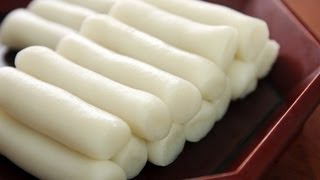 Download Garaeddeok (long cylinder shaped rice cake: 가래떡) Video