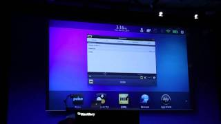 Download Android apps on PlayBook at BlackBerry DevCon 2011 Video